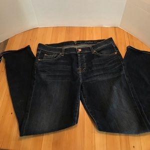 7 for All Mankind Skinny Boyfriend Jeans
